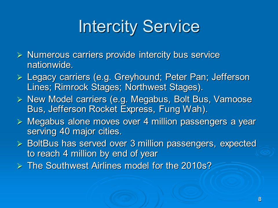 9 Todays Intercity Bus Service