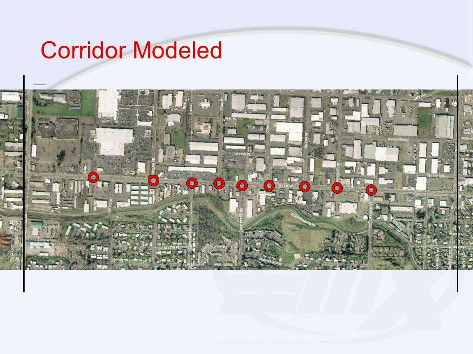 Corridor Modeled