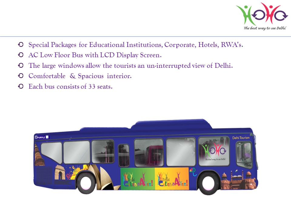 Special Packages for Educational Institutions, Corporate, Hotels, RWAs.