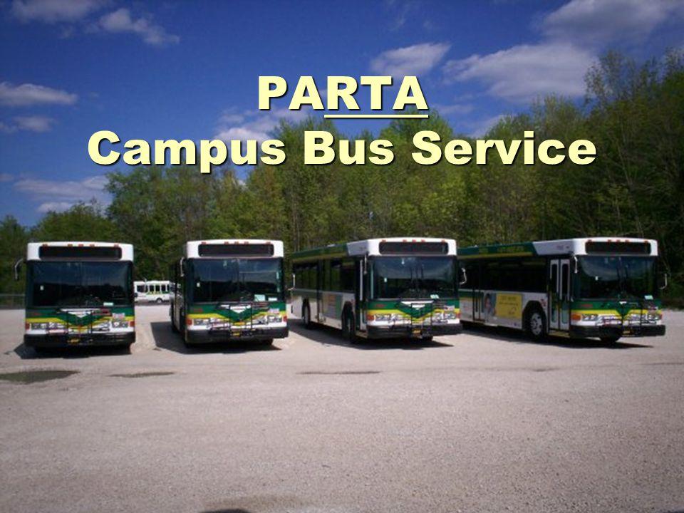 PARTA Campus Bus Service