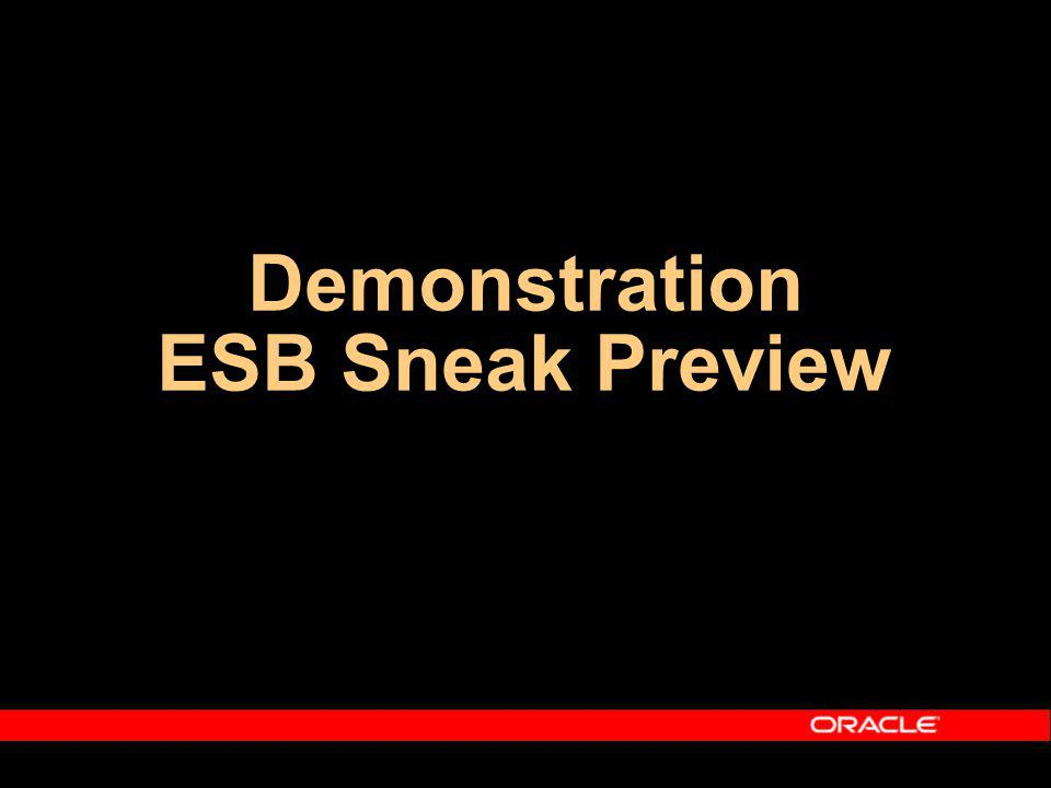Demonstration ESB Sneak Preview