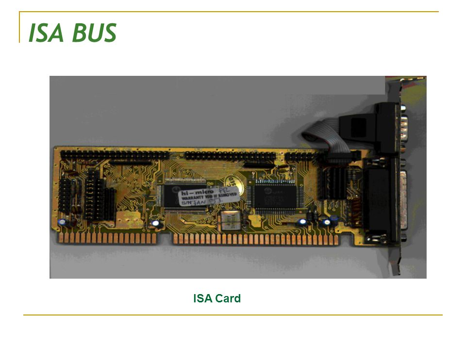 ISA BUS ISA Card