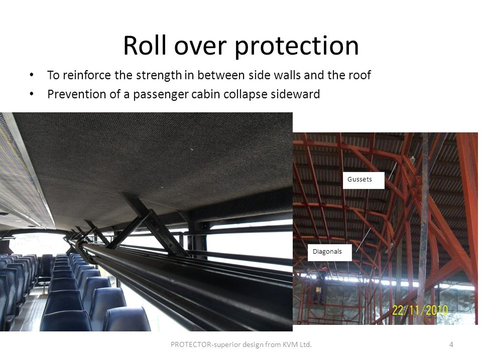 Case 2: Front impact accidents PROTECTOR-superior design from KVM Ltd.