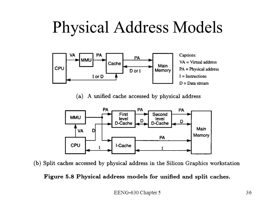 EENG-630 Chapter 536 Physical Address Models