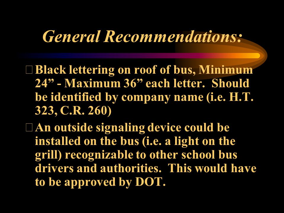 Bus tracking systems at your dispatch locations.