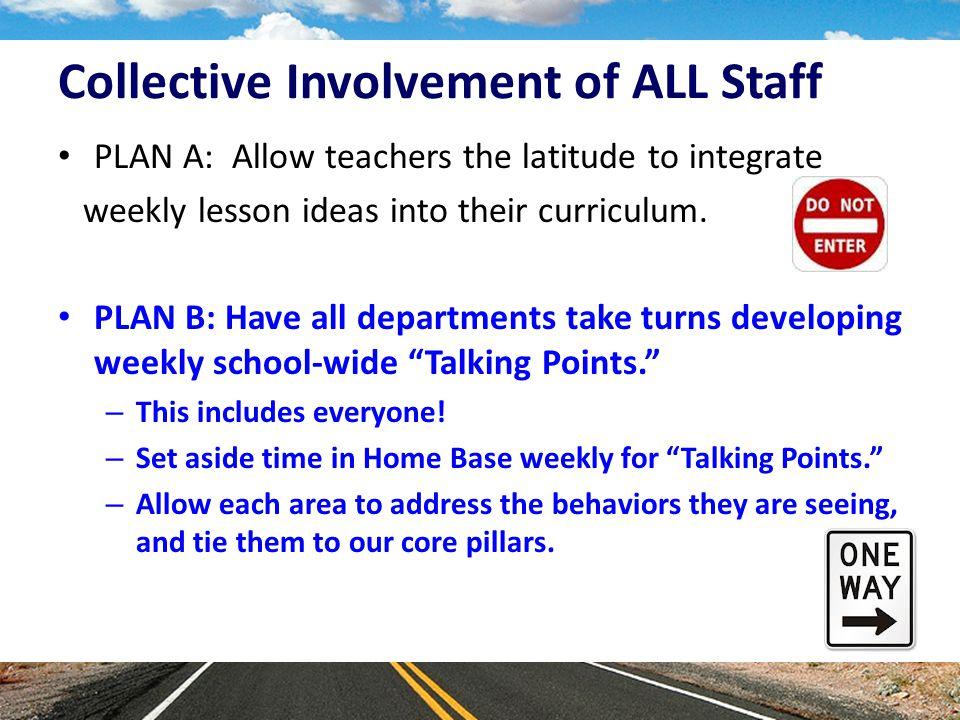 Staff Turn Over New staff = New Helpers.