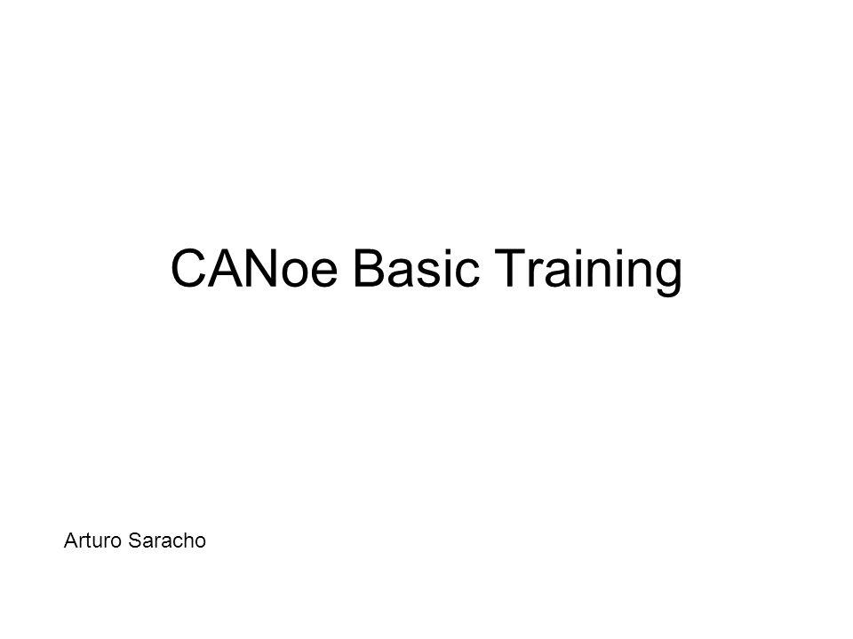 Arturo Saracho CANoe Basic Training Arturo Saracho