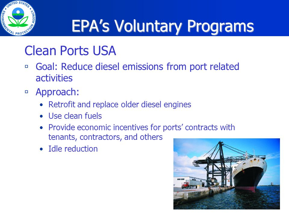 Northeast Diesel Collaborative A regional initiative founded by EPA Regions 1 and 2 with the Northeast States for Coordinated Air Use Management to reduce diesel emissions from the on-road, construction, marine and rail sectors.