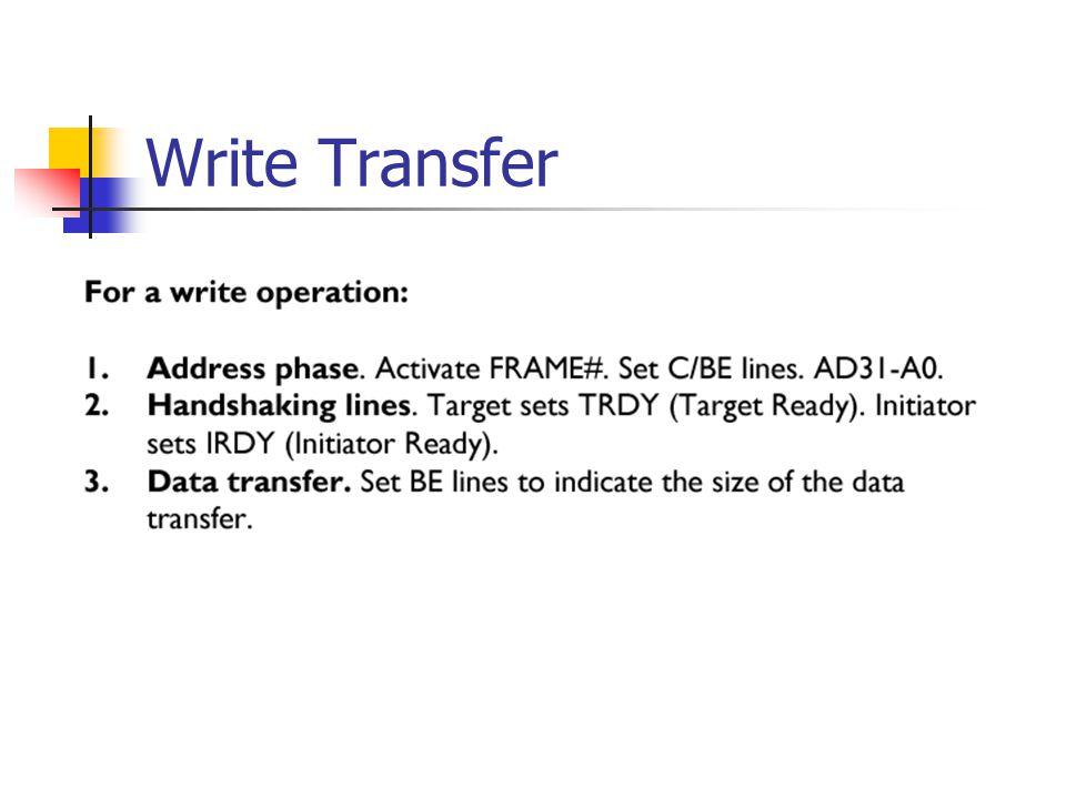 Write Transfer