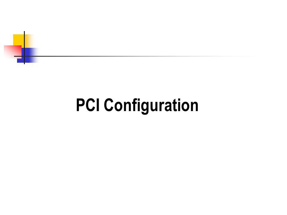 PCI Configuration