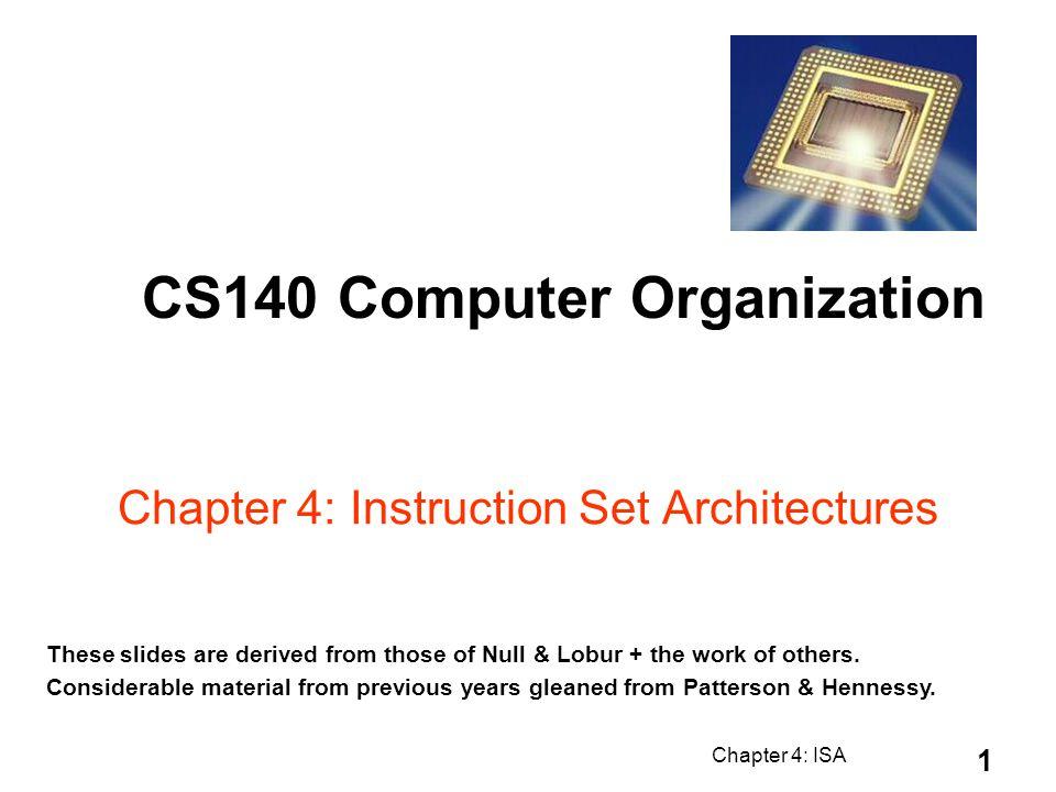 Chapter 4: ISA 52 PC instruction memory +4 registers ALU Data memory imm 3 1 x LW r3, 17(r1) reg[1]+17 17 reg[1] MEM[r1+17] Datapath Walkthroughs #3 lw $r3, 17($r1) 4.9 Instruction Processing