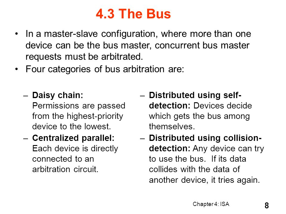 Chapter 4: ISA 39 Stages of the Datapath (1/6) Problem: a single, atomic block which executes an instruction (performs all necessary operations beginning with fetching the instruction) would be too bulky and inefficient Solution: break up the process of executing an instruction into stages, and then connect the stages to create the whole datapath Smaller stages are easier to design Easy to optimize (change) one stage without touching the others 4.9 Instruction Processing PC instruction memory +4 rt rs rd registers ALU Data memory imm 1.
