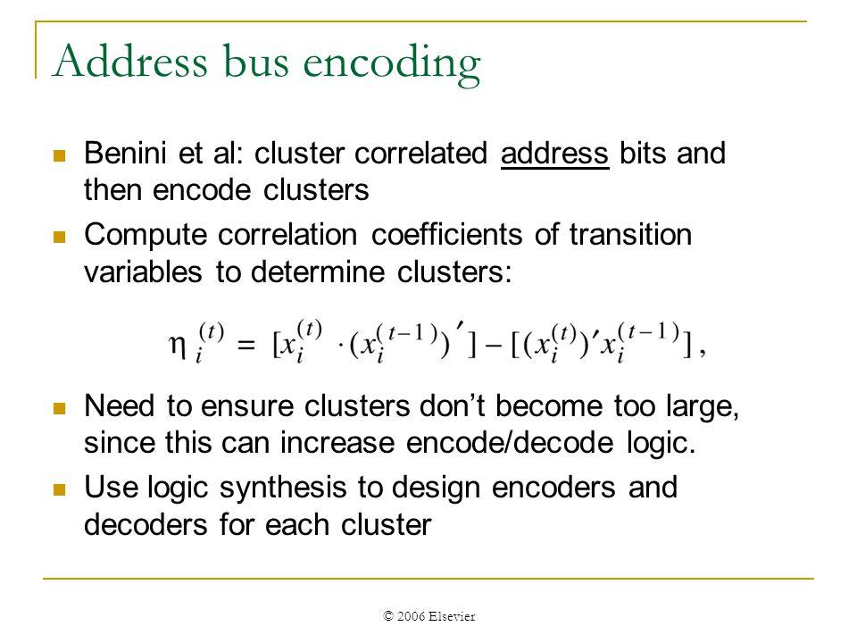 © 2006 Elsevier Benini et al.