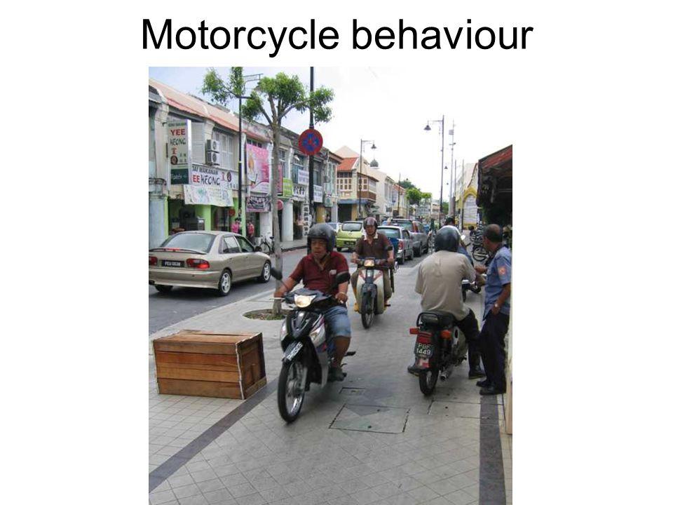 Motorcycle behaviour
