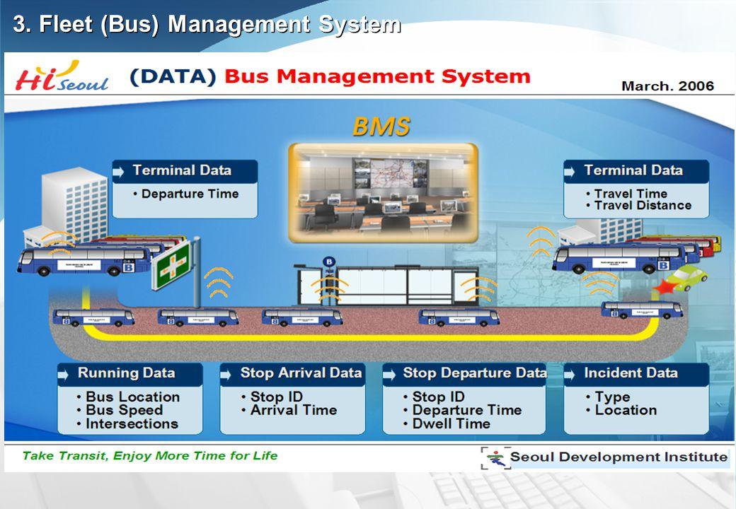 3. Fleet (Bus) Management System