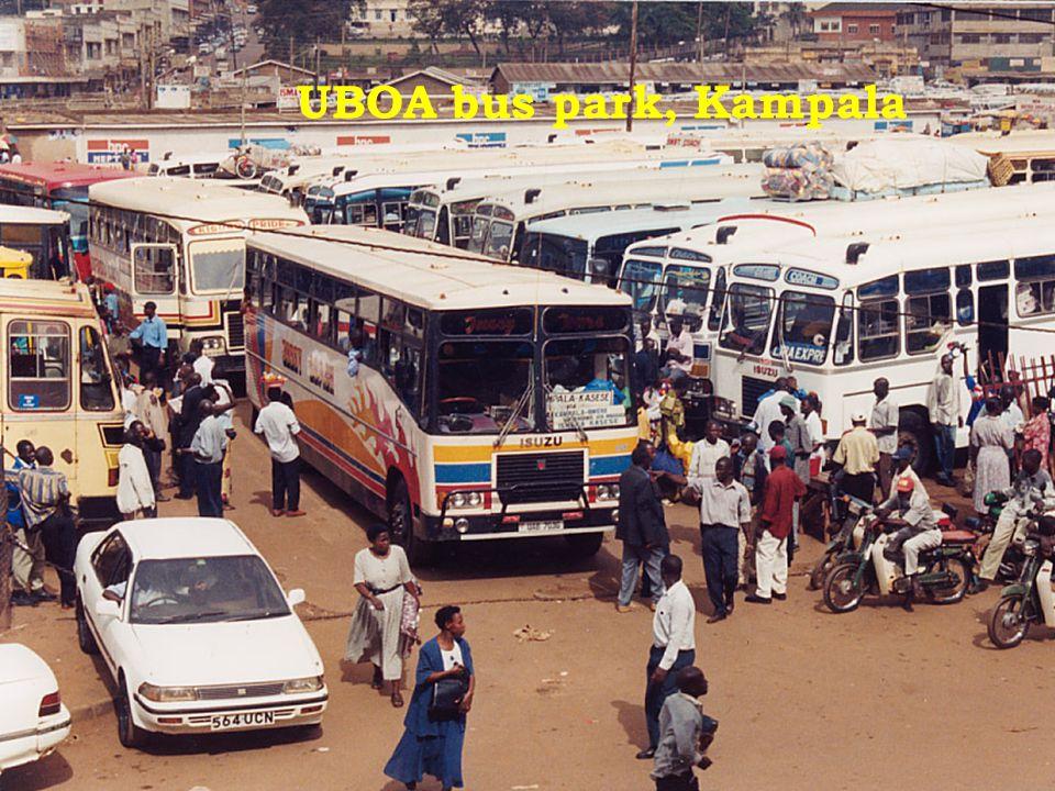 UBOA bus park, Kampala