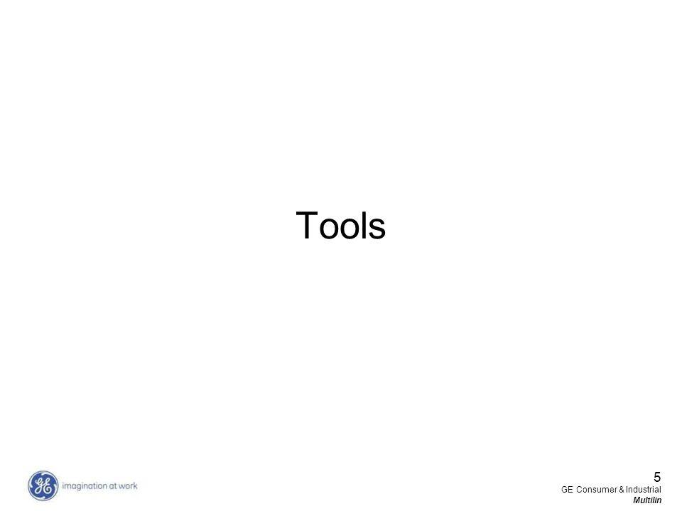 5 GE Consumer & Industrial Multilin Tools