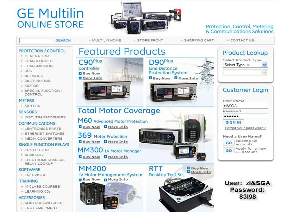 118 GE Consumer & Industrial Multilin Short Circuit Study [2]