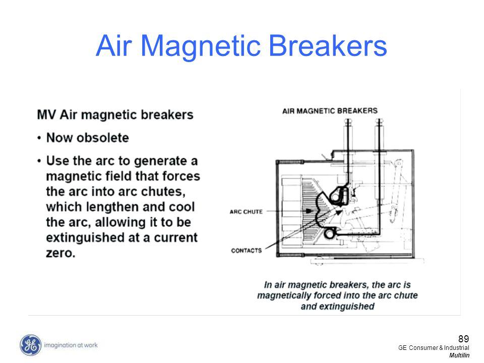 89 GE Consumer & Industrial Multilin Air Magnetic Breakers