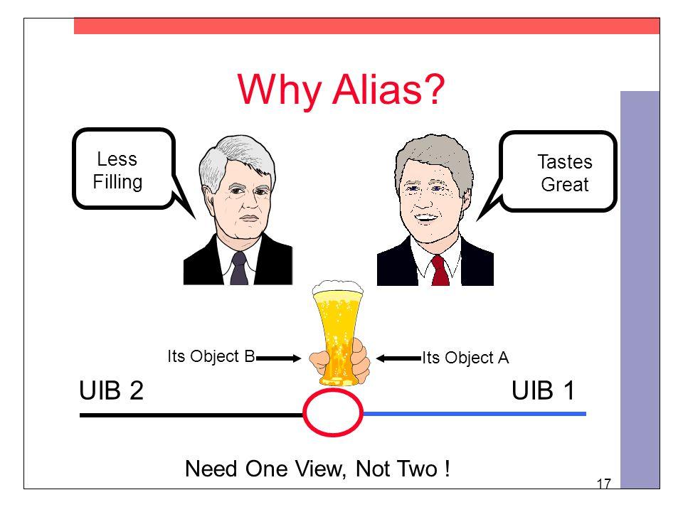 17 Why Alias.
