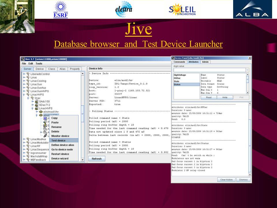 24th October 2006JM Chaize, ESRF PCAPAC Jefferson Lab 200617 Collaboration