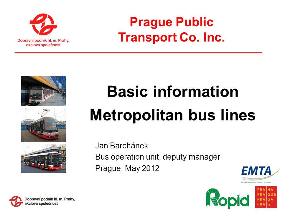 Prague Public Transport Co. Inc.