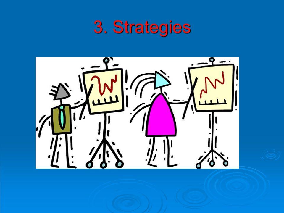 3. Strategies
