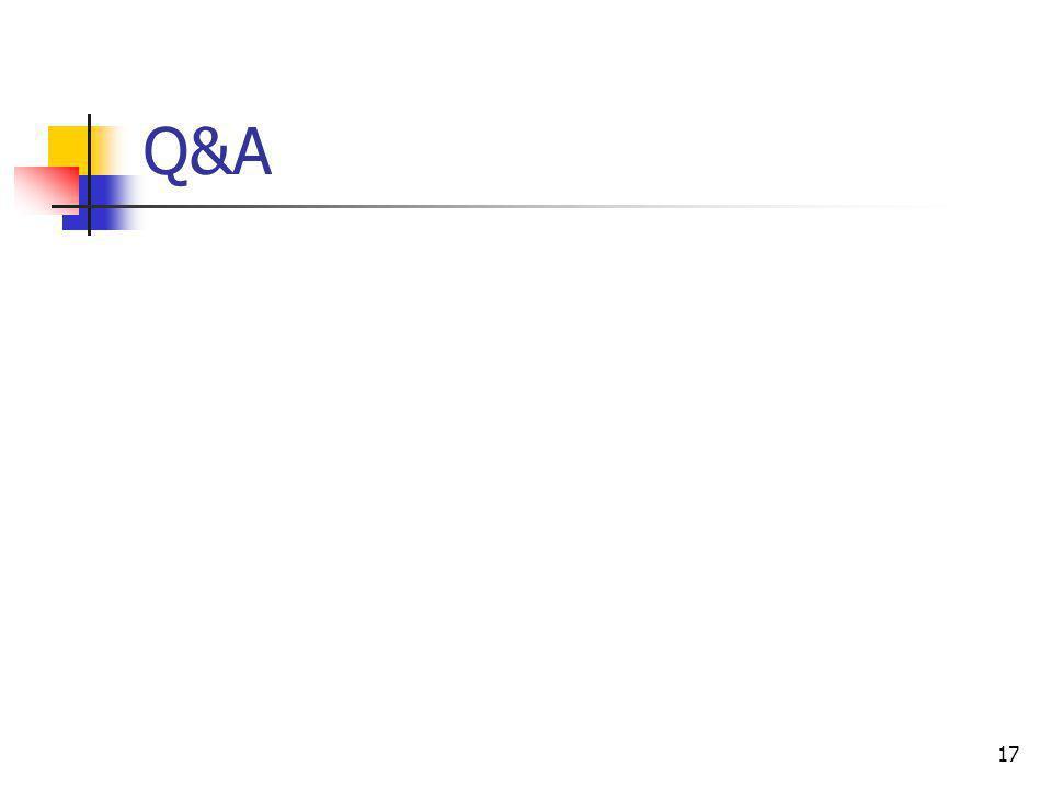 17 Q&A