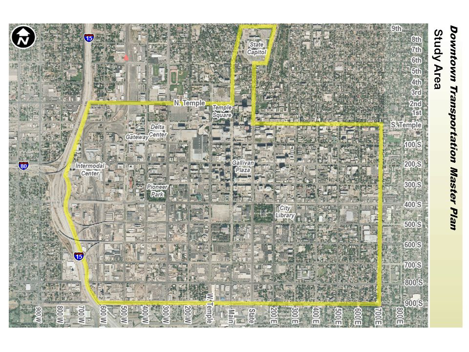 Downtown Transportation Master Plan Medium Density Residential & Mixed-Use Residential Institutional Core Expanded Core Hotel Row HD Residential & Mixed-Use Commercial & Mixed-Use Anticipated Land Use (Generalized) Existing Track