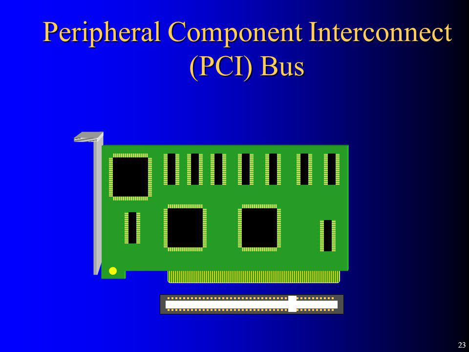 23 Peripheral Component Interconnect (PCI) Bus