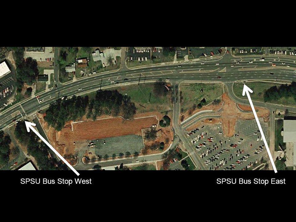 SPSU Bus Stop WestSPSU Bus Stop East