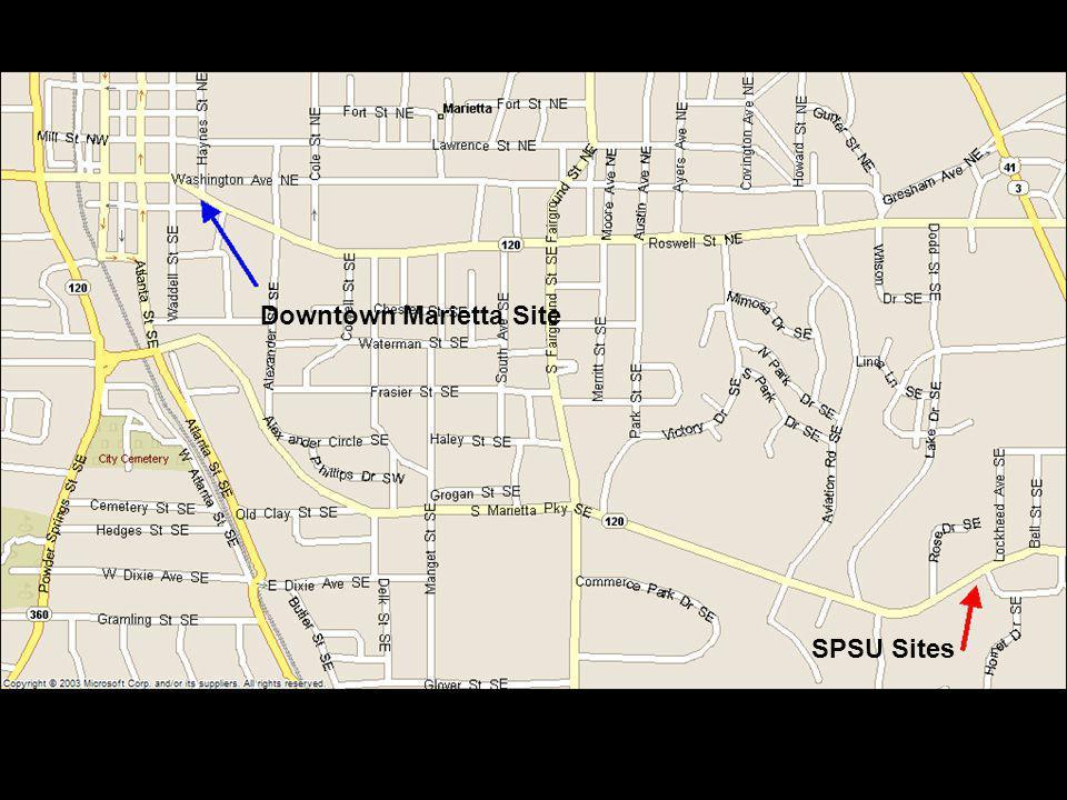 Downtown Marietta Site SPSU Site