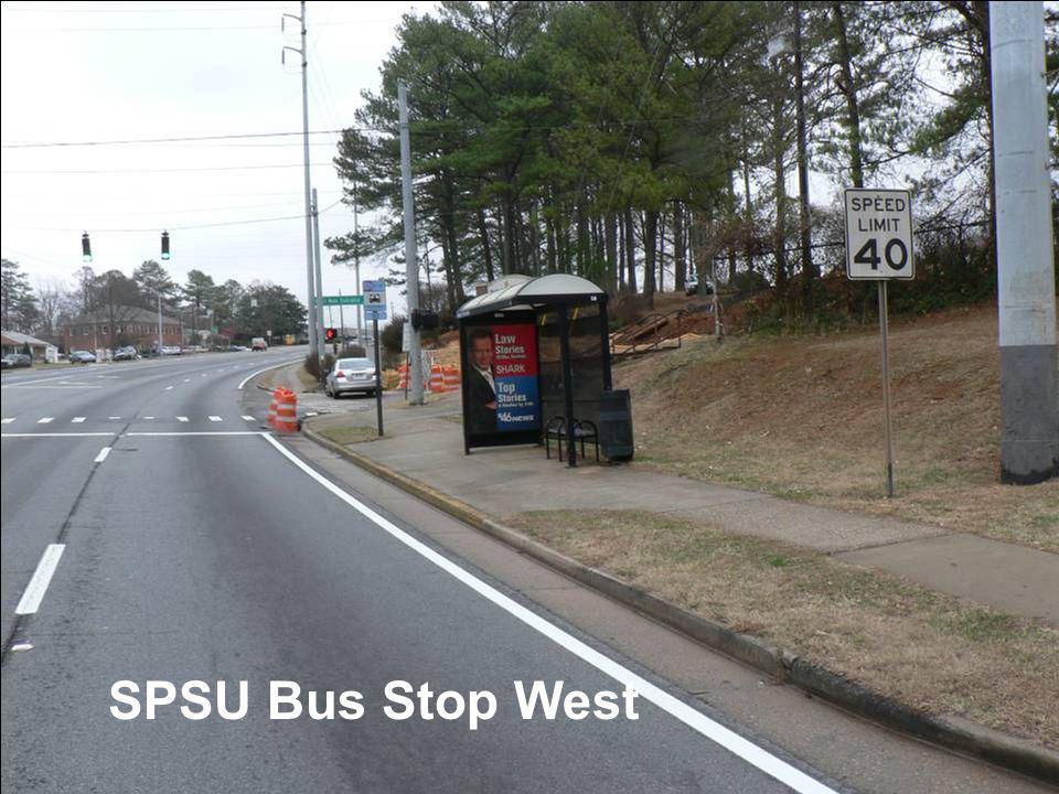 SPSU Bus Stop West