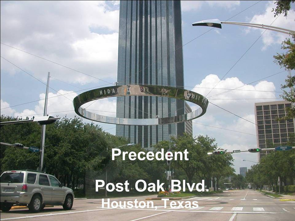 Precedent Post Oak Blvd. Houston, Texas