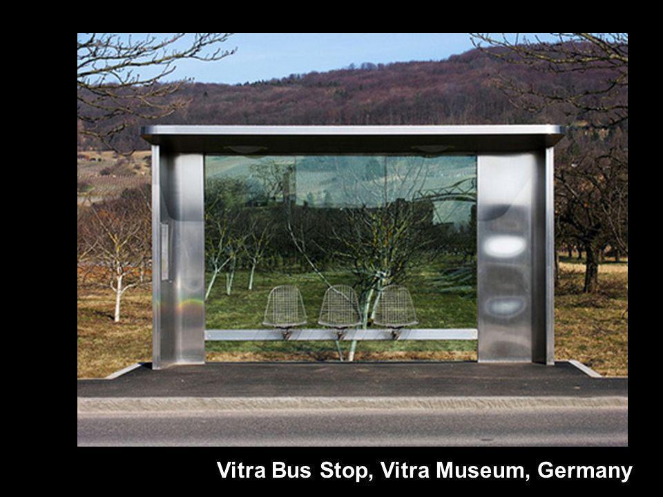 Vitra Bus Stop, Vitra Museum, Germany