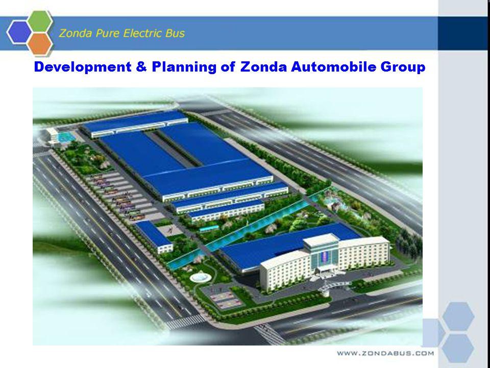Development & Planning of Zonda Automobile Group