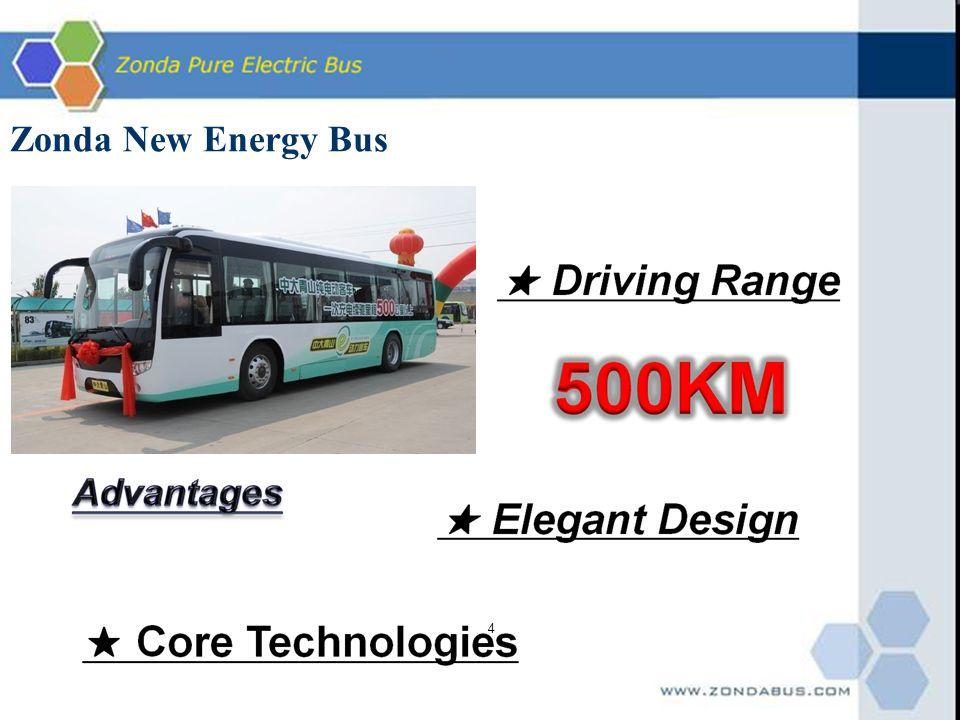 4 Zonda New Energy Bus