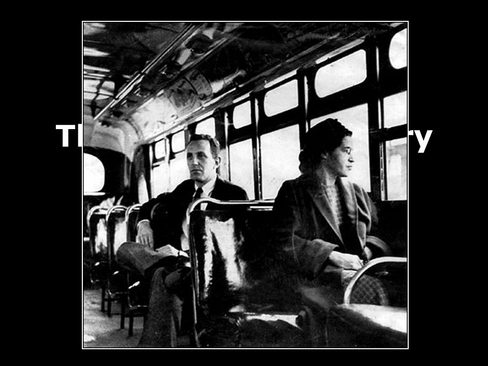 The 1955 Montgomery Bus Boycott