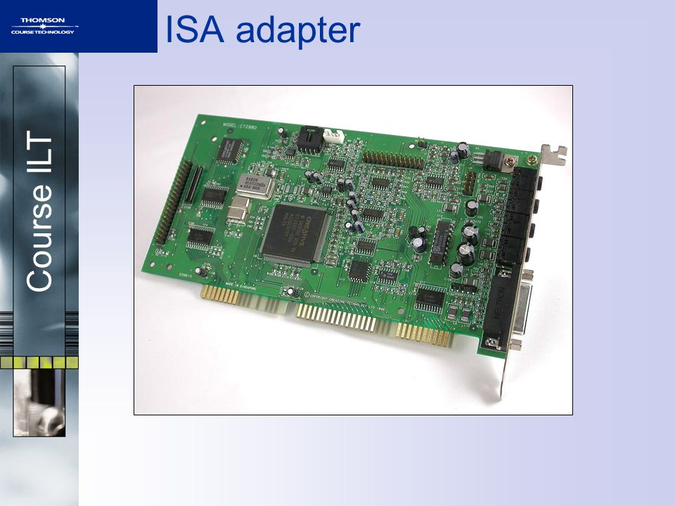 Course ILT ISA adapter