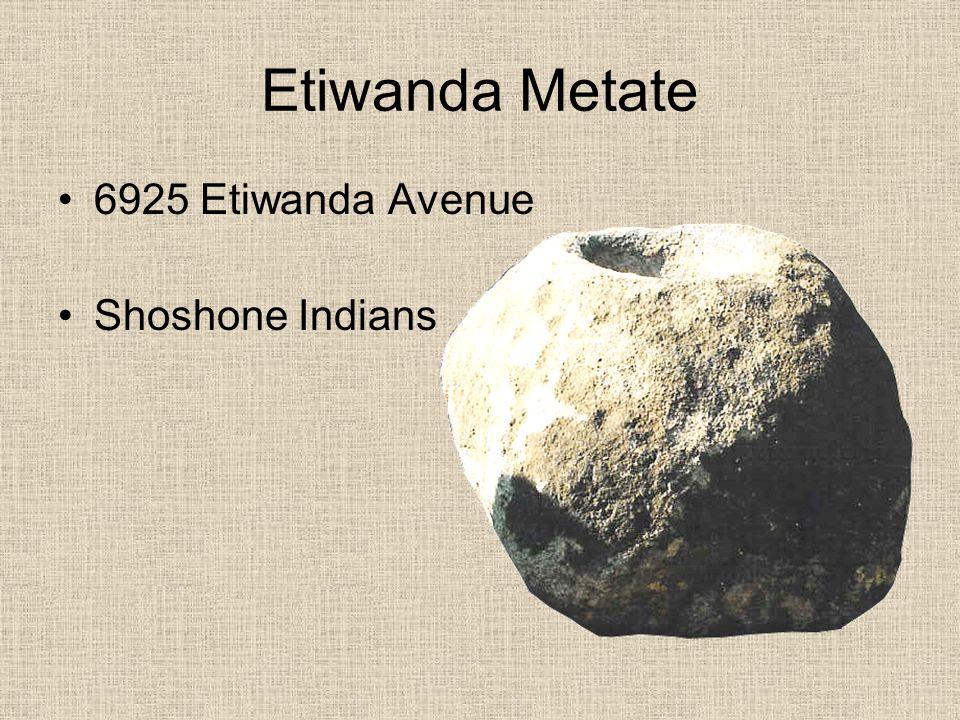 Etiwanda Railway Station 7089 Etiwanda Avenue Pacific Electric Line