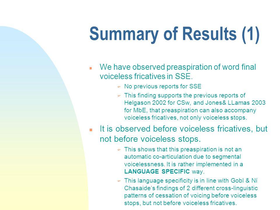 Read speech versus spontaneous CDS