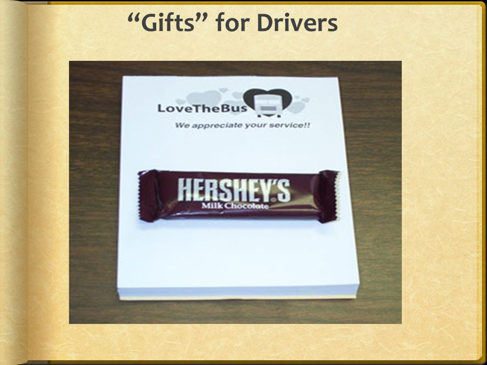 Gifts for Drivers