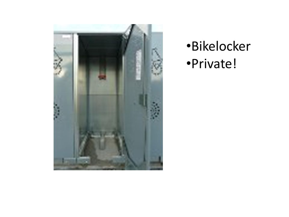 Bikelocker Private!