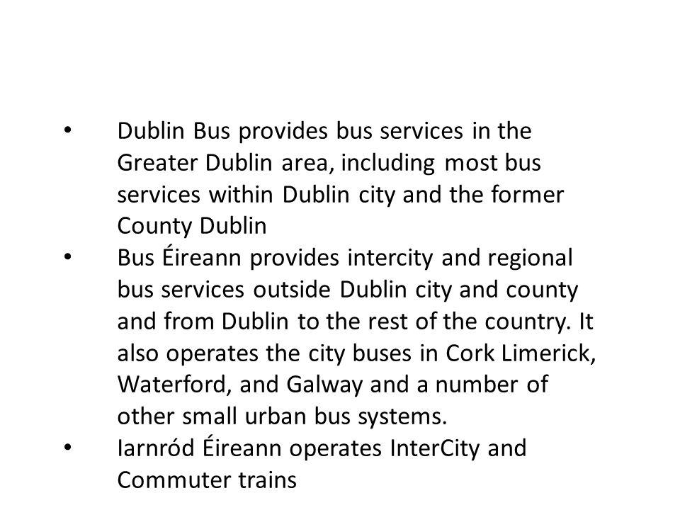 DART – Dublin Rapid Area Transport