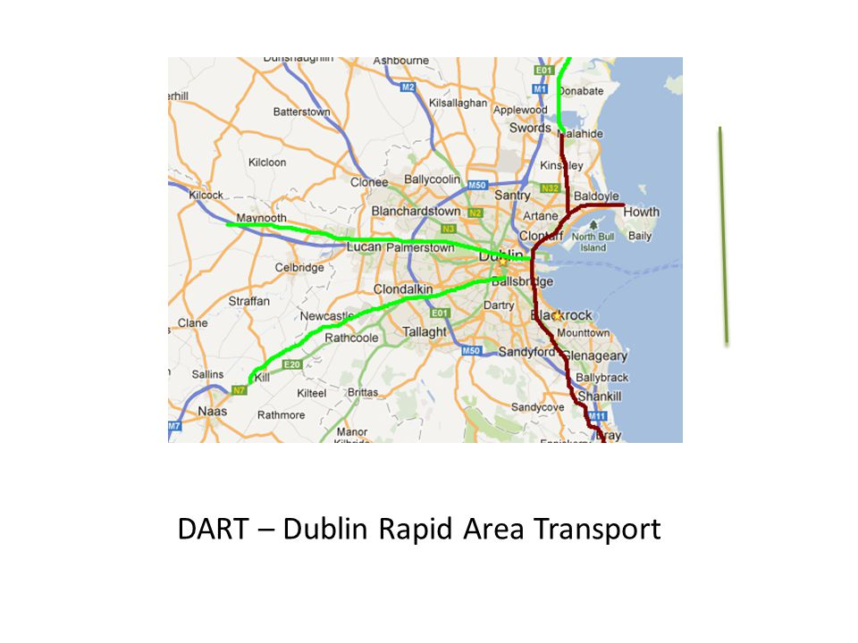 DART – Dublin Rapid Area Transport