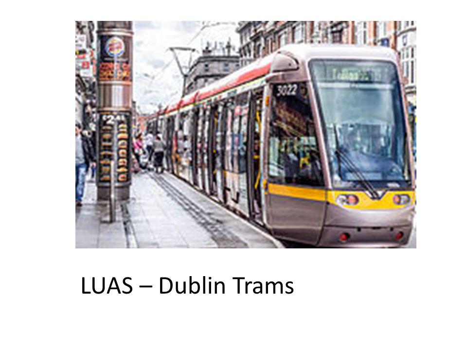 LUAS – Dublin Trams