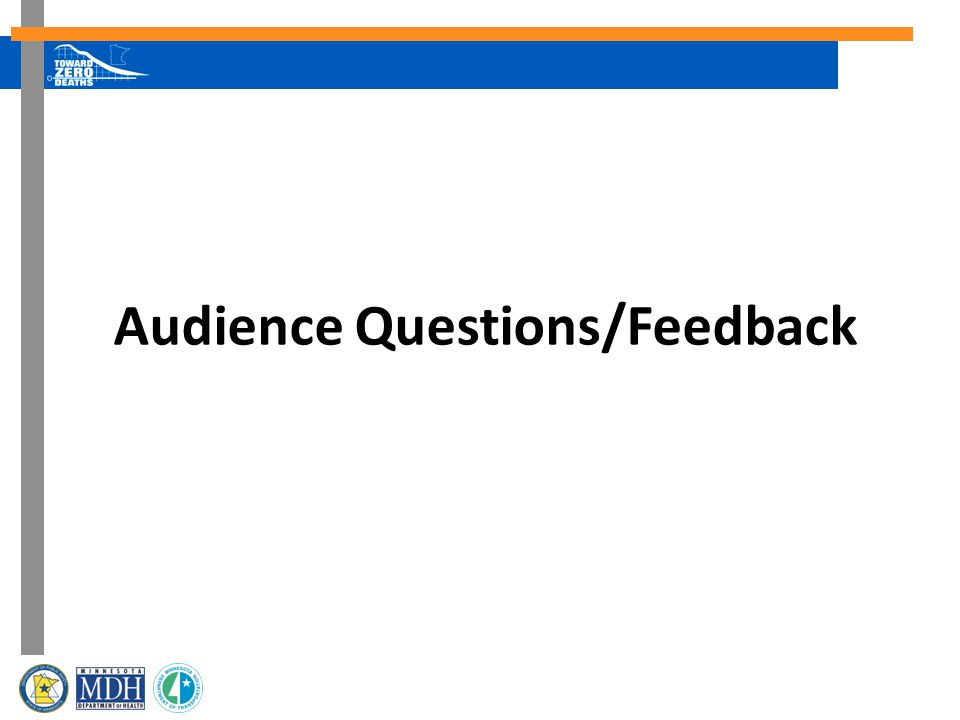 Audience Questions/Feedback