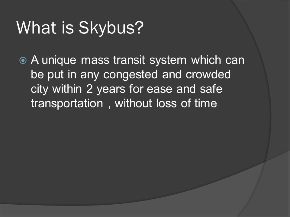 What is Skybus.