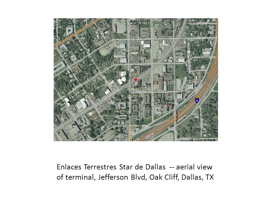 El Conejo Bus Company new Terminal in Oak Cliff, Dallas, TX on Loop 12 near Kiest Blvd.