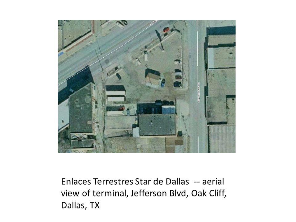 Tornado Bus Terminal on Jefferson Avenue in Oak Cliff, Dallas, TX